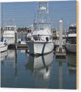 Port Canaveral Floirda Usa Wood Print