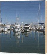 Port Canaveral Florida Usa Wood Print