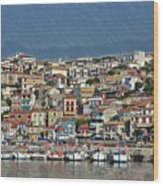 Port City Parga Greece - Dwp1163344 Wood Print