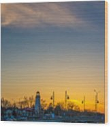 Port Credit 4 Wood Print