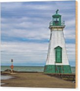 Port Dalhousie Lighthouse 1 Wood Print