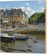 Port De St Goustan Wood Print