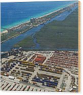 Port Everglades Florida Wood Print