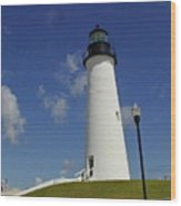 Port Isabel Lighthouse Wood Print