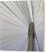 Port Mann Bridge Wood Print