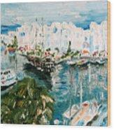 Port Wood Print