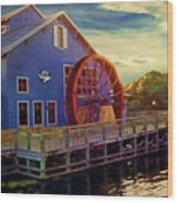 Port Orleans Riverside Wood Print