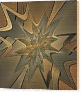 Portal Of Stars Wood Print