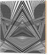 Portal Opening Wood Print