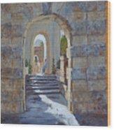 Portals At Vizcaya Wood Print