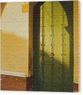 Porte Verte Wood Print