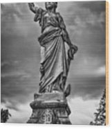 Porter Monument Wood Print