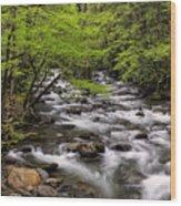 Porters Creek Wood Print