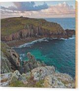 Porth Loe Cornwall At Sunrise Wood Print