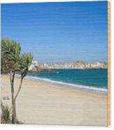 Porthminster Beach Wood Print