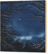 Porthole To The Heavens Wood Print