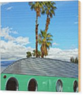 Portholes Palm Springs Wood Print