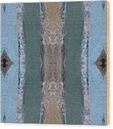 Portico Column II Wood Print