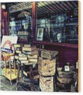 Portobello Road London Junk Shop Wood Print