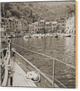 Portofino Italy From Solway Maid Wood Print