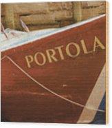 Portola Wood Print