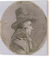 Portrait Bust Of An Unknown Wood Print