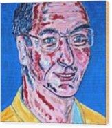 Portrait Dr. R. Meiritz Wood Print