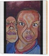 Portrait Eul And Dhani Wood Print