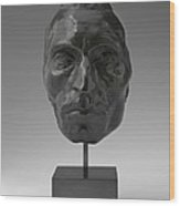 Portrait Mask Of Etienne Carjat Wood Print