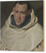 Portrait Of A Carmelite Friar Wood Print