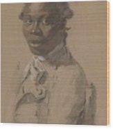 Portrait Of A Gentleman 1802 Wood Print