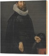 Portrait Of A Gentleman Wood Print