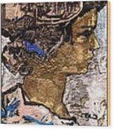 Portrait Of A Girl Pog2 Wood Print