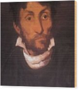 Portrait Of A Kleptomaniac 1822 Wood Print