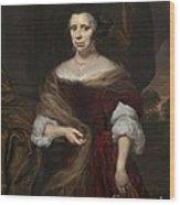Portrait Of A Lady Wood Print