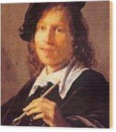 Portrait Of A Man 1640 Wood Print