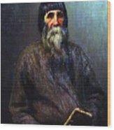 Portrait Of A Peasant 1889 Ilya Repin Wood Print
