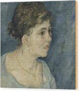 Portrait Of A Prostitute Antwerp December 1885 Vincent Van Gogh 1853  1890 Wood Print
