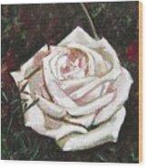 Portrait Of A Rose 3 Wood Print