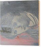 Portrait Of A Theatre Actress Wood Print
