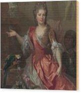 Portrait Of A Woman Wood Print