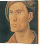 Portrait Of A Young Man 1500 Wood Print