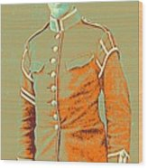 Portrait Of A Young  Wwi Soldier Series 14 Wood Print