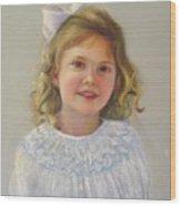 Portrait Of Amy Wood Print