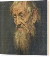 Portrait Of An Old Man 1913 Wood Print