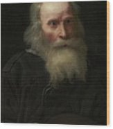 Portrait Of An Old Man Begging By Michael Sweerts Wood Print