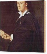 Portrait Of Bartolini Wood Print