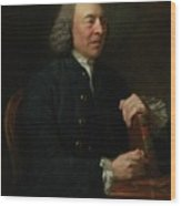 Portrait Of Benjamin Stillingfleet Wood Print