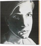 Portrait Of Bridget L. Wood Print