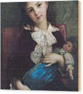 Portrait Of Catherine Du Bouchage Wood Print